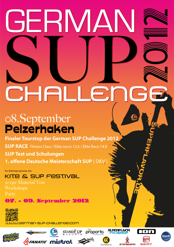 gsc2012 Pelze web - KILLERFISH Hot Energy wird Titel-Sponsor der German SUP Challenge 2014