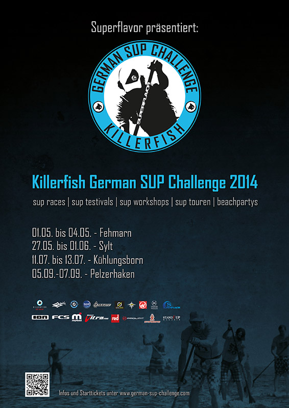 killerfish gsc2014 sup quer - Killerfish German SUP Challenge beim Rollei Surf & SUP Opening