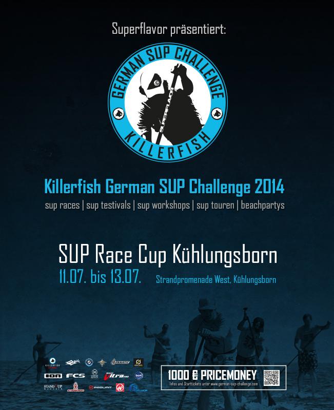 gsc2014 kuehlungsborn - Die Killerfish German SUP Challenge  kommt nach Kühlungsborn