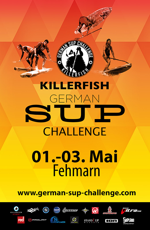 gsc15 fehmarn date1 - Killerfish German SUP Challenge Fehmarn 2015 - Alle Infos!