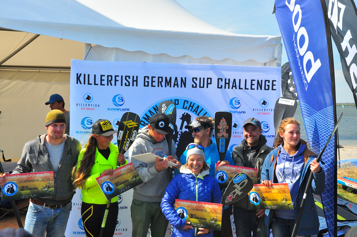 Killerfish German SUP Challenge 2015 64 - Beach Action beim Saisonstart der Killerfish German SUP Challenge 2015 auf Fehmarn