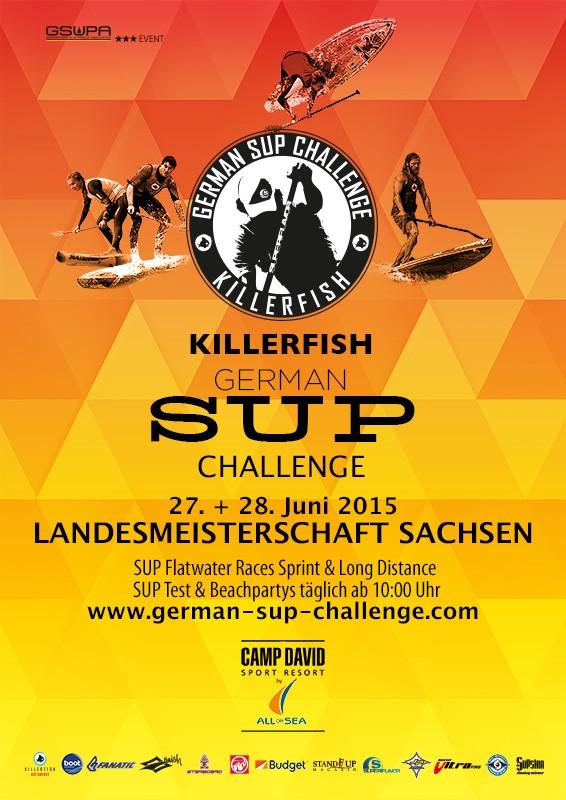 gsc15 campdavid sup 566x800 - SUP Landesmeisterschaft Sachsen bei der Killerfish German SUP Challenge – Jetzt anmelden!