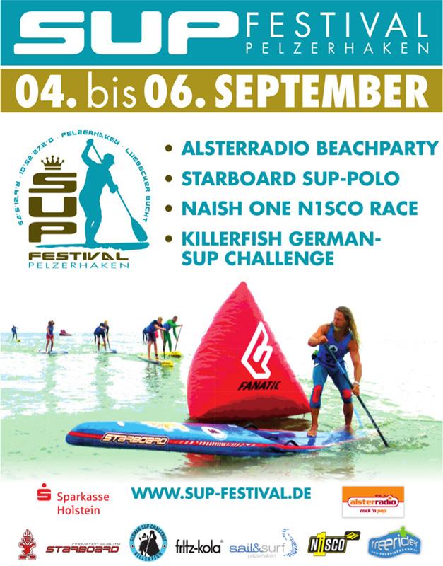 sup festival pelzerhaken plakat 2015 - GSC Finale 2015 beim  SUP Festival Pelzerhaken