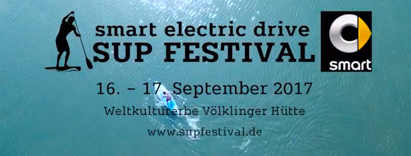 smart electric drive sup festival voelklingen - german sup challenge